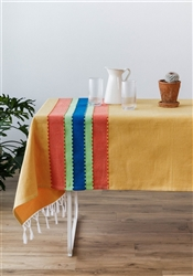Colorful Handmade Mexican Tablecloths Decor