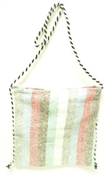 Mexican Baja Bag with Rope Strap - Pattern 1
