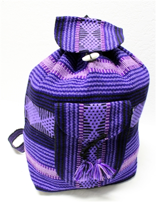 Traditional Mexican Backpack - Mayan 1
