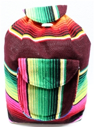 Traditional Mexican Backpack - Mayan 14