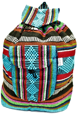 Traditional Mexican Backpack - Mayan 3