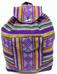 Traditional Mexican Backpack - Mayan 6