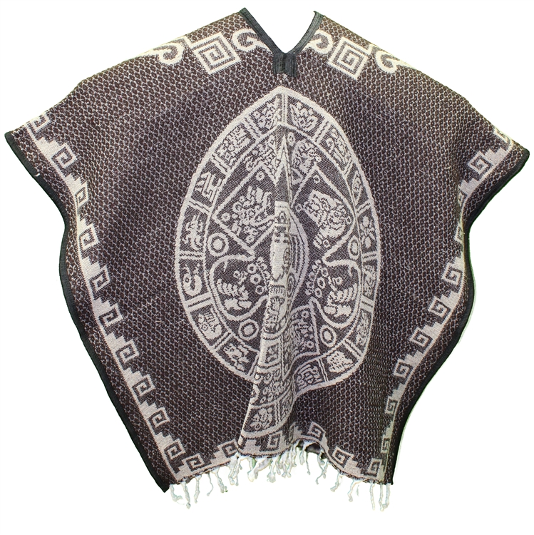 Heavy Blanket Mexican Poncho
