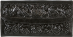 Embossed Leather Wallet - Black