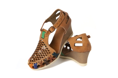 Your Source for Mexican Wedge Huarache Sandals