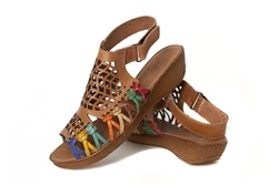 Shop for Women's Wedge Mexican Huarache Sandals