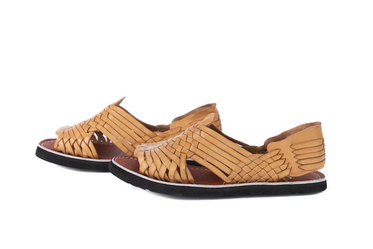 (Raw & Rustic) Men's Generic Pachuco Huarache Sandals - Natural