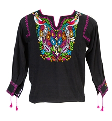 Shop for Mexican Blouses Long Sleeve