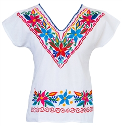 Shop for Mexican Blouse Embroidered, Fiesta Attire