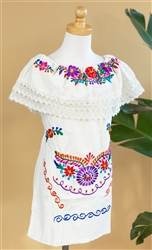 Find Kids Size Mexican Dresses for Fiesta