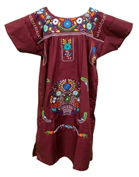 Shop Women's Mexican Dresses Handmade