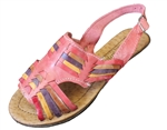 Women's Colorful Huaraches Sandals - Multicolor