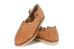 Shop for Woven Leather Huaraches Shoes Sandals