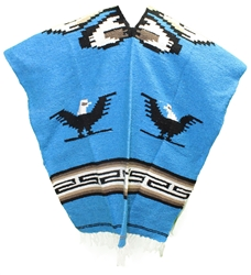 Mexican Tribal Western Poncho #10