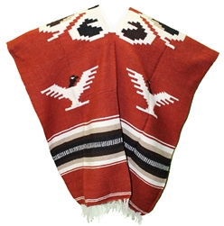 Mexican Tribal Western Poncho #3
