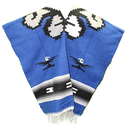 Mexican Tribal Western Poncho #4