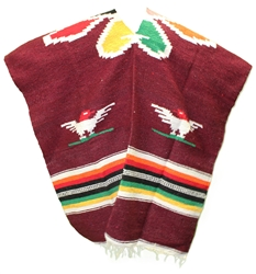 Mexican Tribal Western Poncho #7