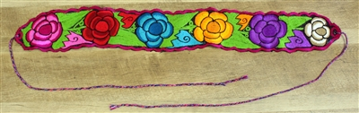 Shop Mexican Embroidered Belts for Blouses