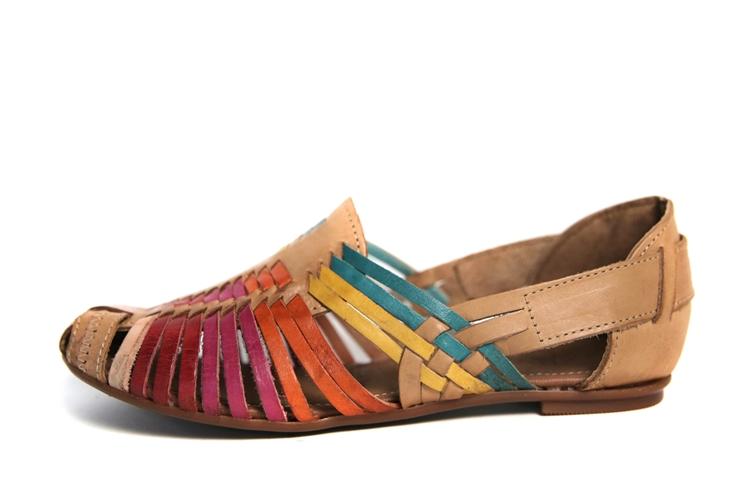 e7ca6e3afcc9e Women's Closed Toe Huaraches Sandals - Multi