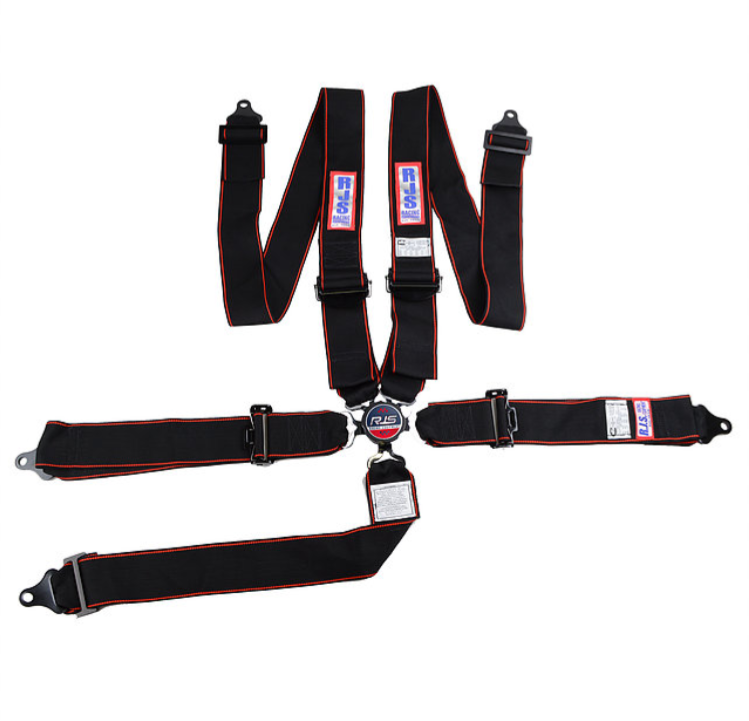 RJS Racing Equipt 5 point camlock harness.