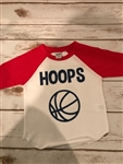 2 Tone Basketball 3 Quarter Sleeve