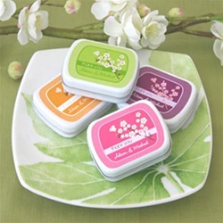 Cherry Blossom Mint Tins Favors