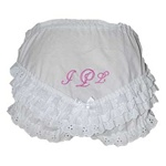 Cotton Ruffle Diaper Cover