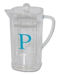 Lucite Pitcher