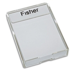 Lucite Note Holder