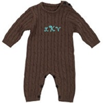 Cable Knit Onesie