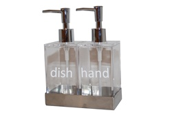 Lucite Soap/Lotion Dispensers