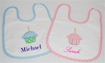 My 1st Birthday Cupcake Bib