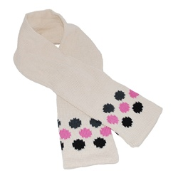 Knitted Scarf- Dot