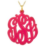 Monogramed Necklace - Script