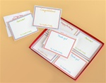 Contemporary Note Card Set