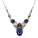 Camelia Necklace Royal Blue