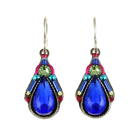 Firefly  Camelia Simple Earring Royal Blue