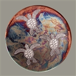 Raku Marine Dream Plate