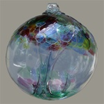 Tree of Family Glass Ball