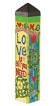 "Love is All You Need - 20"" Pole"