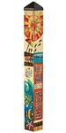 Peace, Love, Sunshine Pole - 3ft