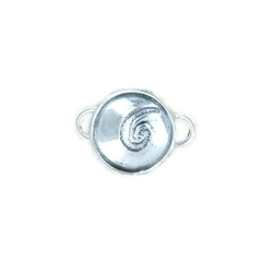 Tabra Embossed Sterling Silver Charm
