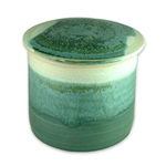 French Butter Keeper in Seafoam