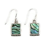 Abalone Square Earrings