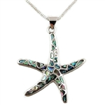 Abalone Starfish Necklace