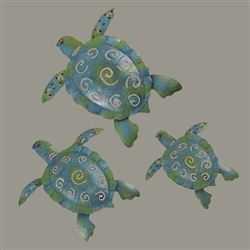 Three Turtles Wall Art