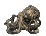 Steampunk Octopus with Secret Drawer