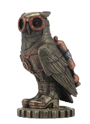 Owl with Goggles and Jetpack