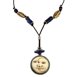 Tabra Moon/Sun Necklace