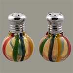 Rainbow Stripe Mini Salt and Pepper Shaker